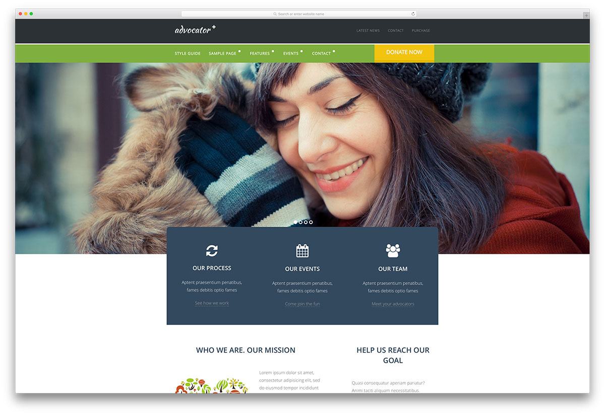 advocator-charity-website-template