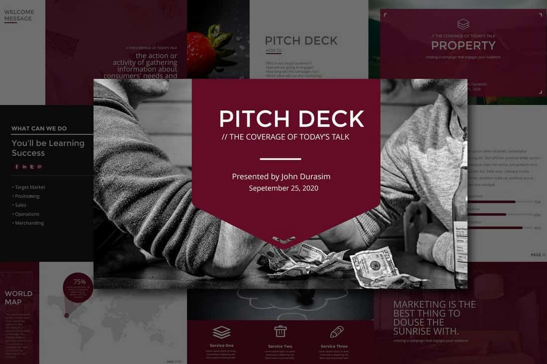 20+ Best Startup Pitch Deck Templates for PowerPoint - Web Design Tips