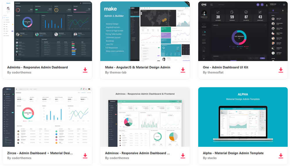 20 Free Bootstrap Admin Dashboard Templates Web Design Tips