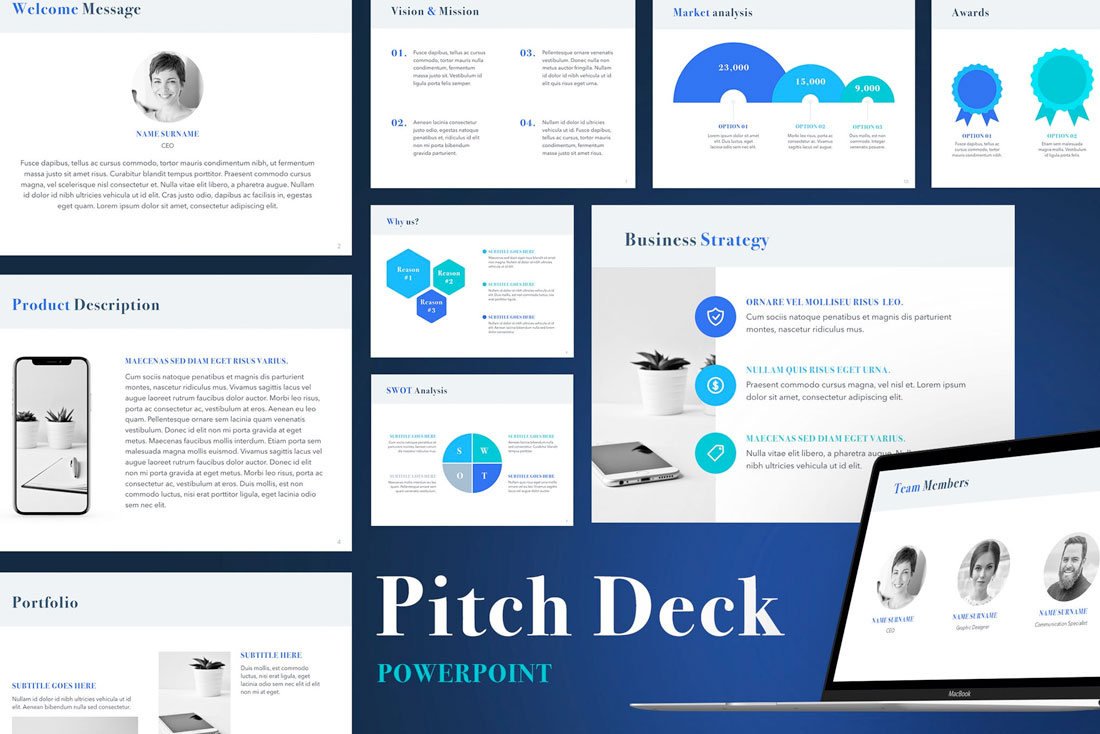 What Is a Pitch Deck? (And How to Make One) - Web Design Tips