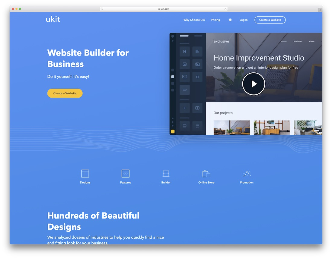 ukit website builder for seo