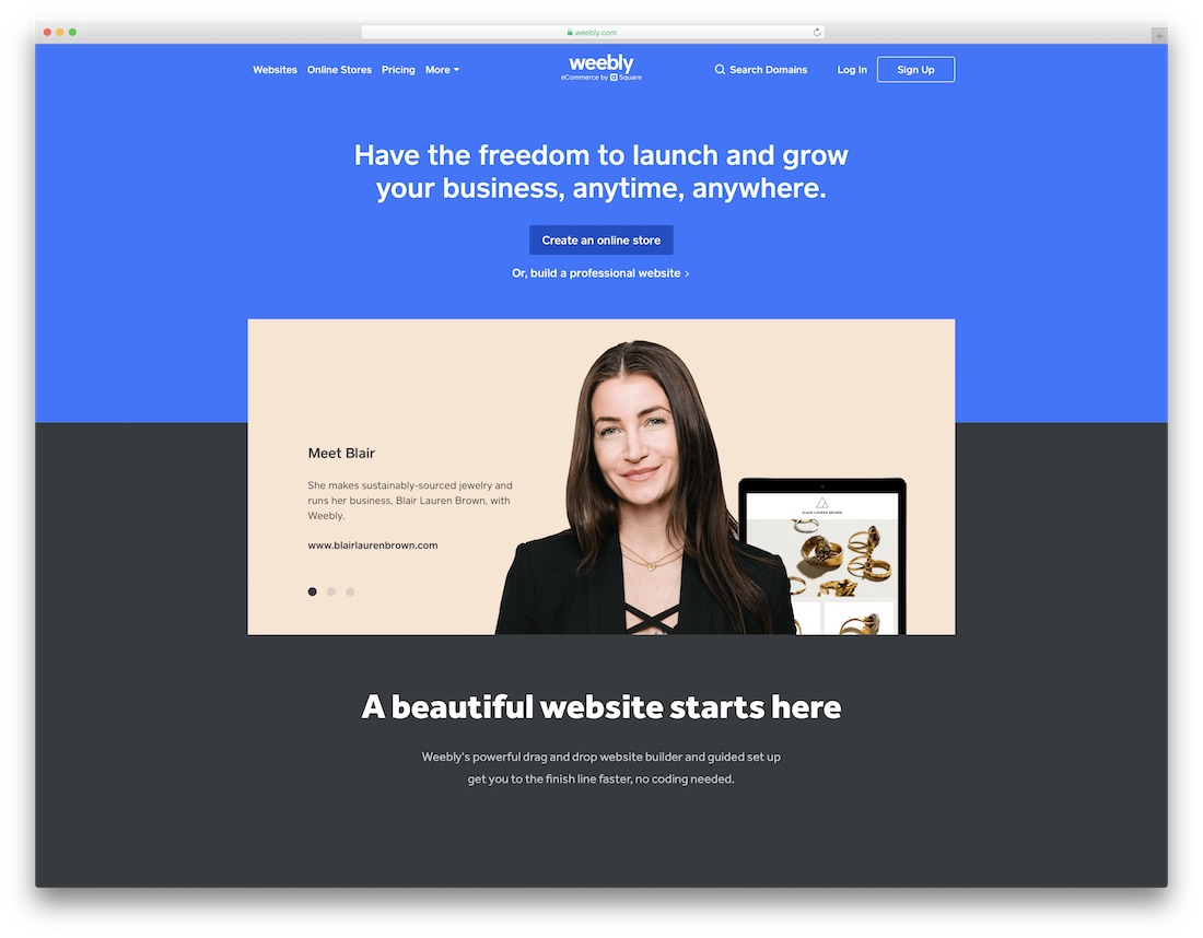 weebly website builder for seo