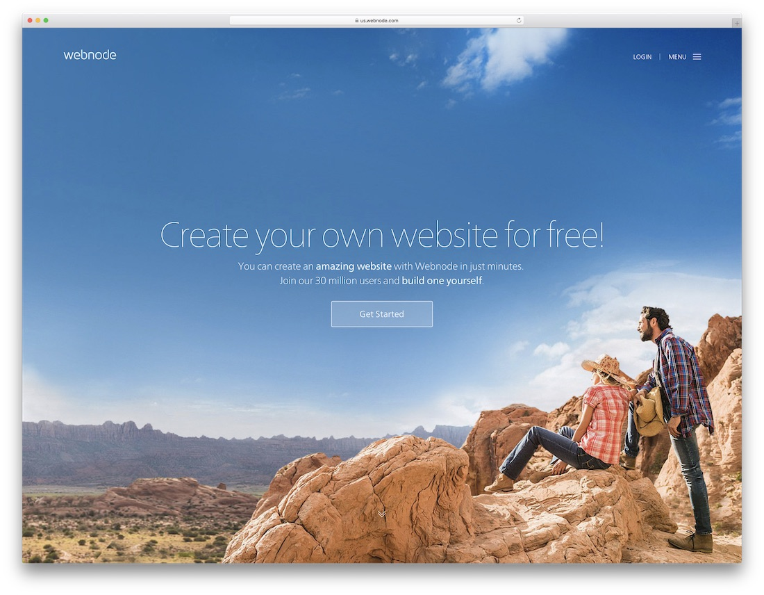 webnode website builder for seo