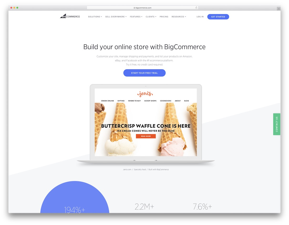 bigcommerce website builder for seo