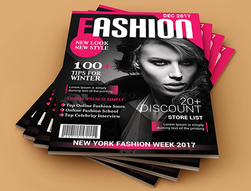 28 best magazine cover templates  indesign  u0026 photoshop psd