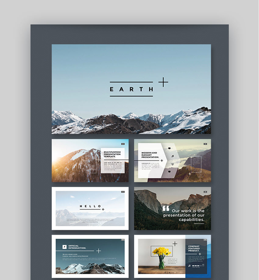 25 cool powerpoint templates  to make presentations in