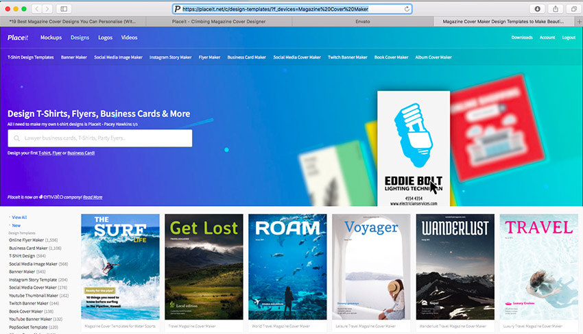 19 Best Magazine Cover Designs You Can Personalise With A Magazine Generator Web Design Tips