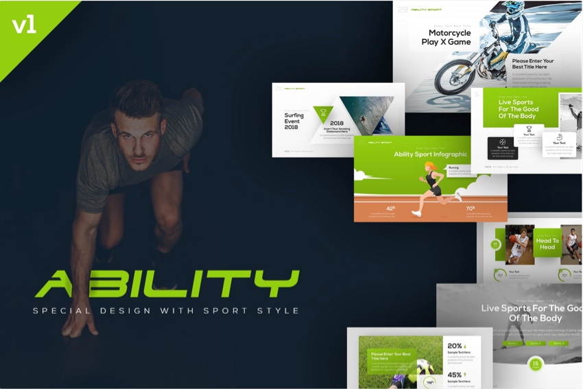 19 Best Sports Powerpoint Templates For Team Presentations Web