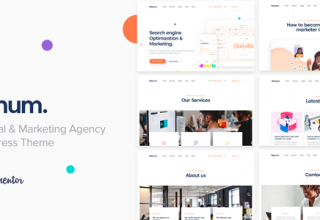 Nanum — Digital & Marketing Agency WordPress Theme