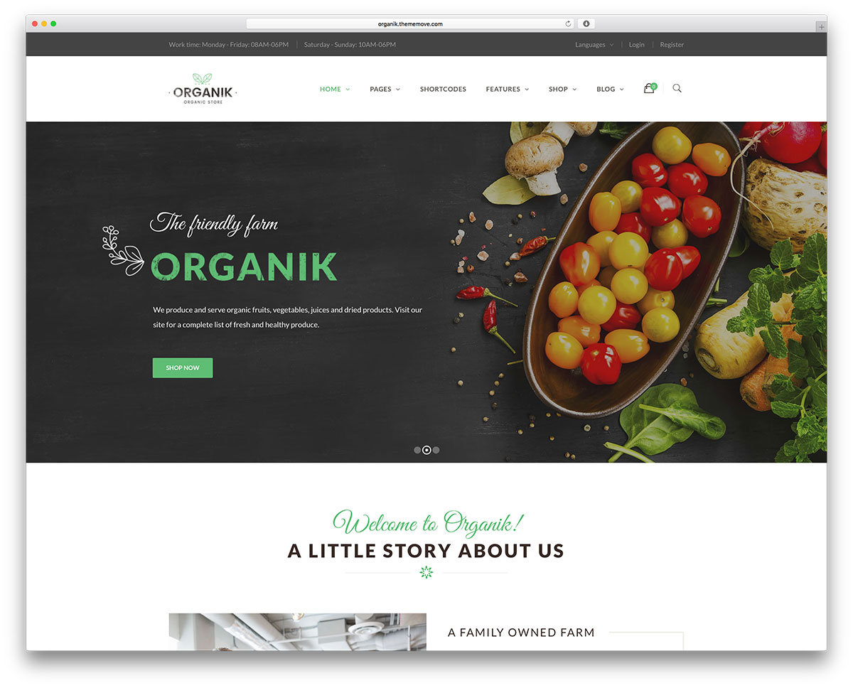 Treasures Of Organic Agriculture 13 Best Farming Wordpress Themes 2019 Web Design Tips