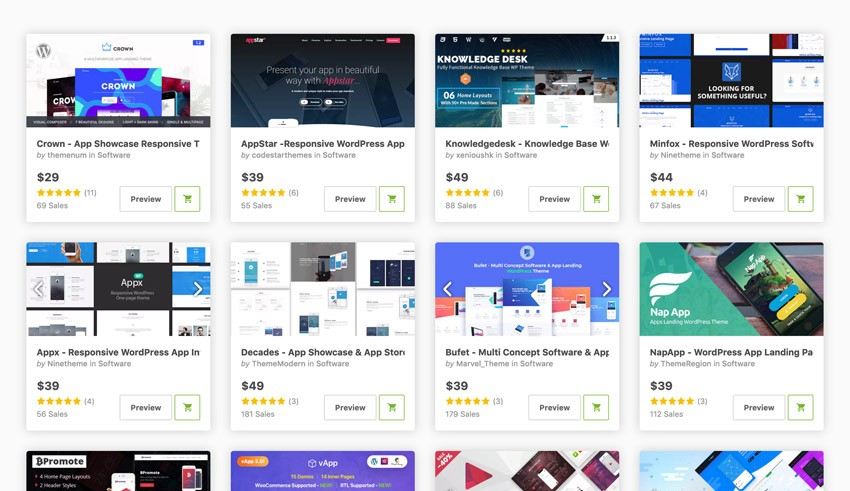 17 Best Mobile App Software Wordpress Themes For 2019 Web Design Tips