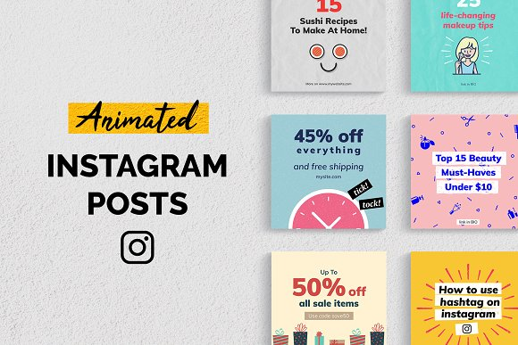 Eye-catching Instagram Ad Templates To Boost Your Stories
