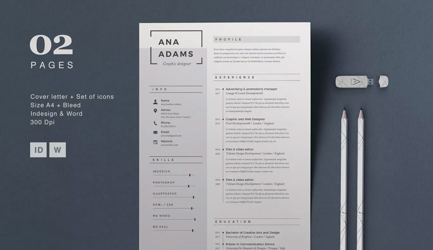 22  professional business resume templates for 2019