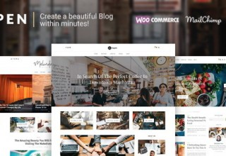 Aspen - WordPress Blog Theme