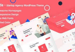 Romada - Startup Agency WordPress Theme