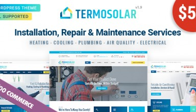 Termosolar - Maintenance Services WordPress Theme