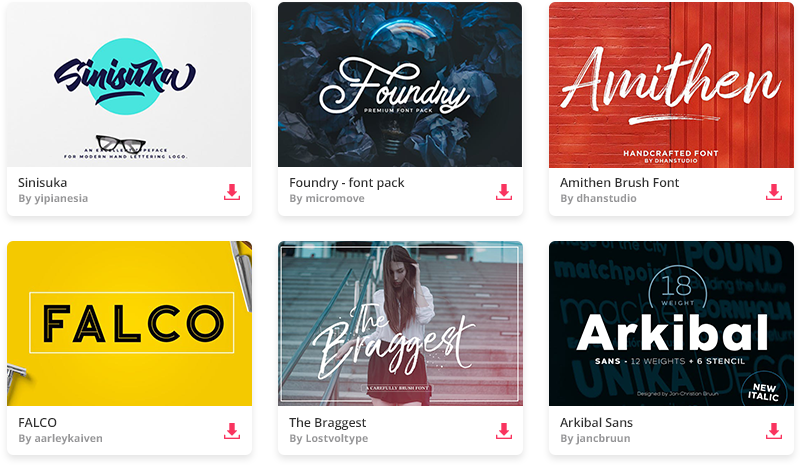 9 Unique Free Fonts You (Probably) Haven't Tried Yet - Web Design Tips