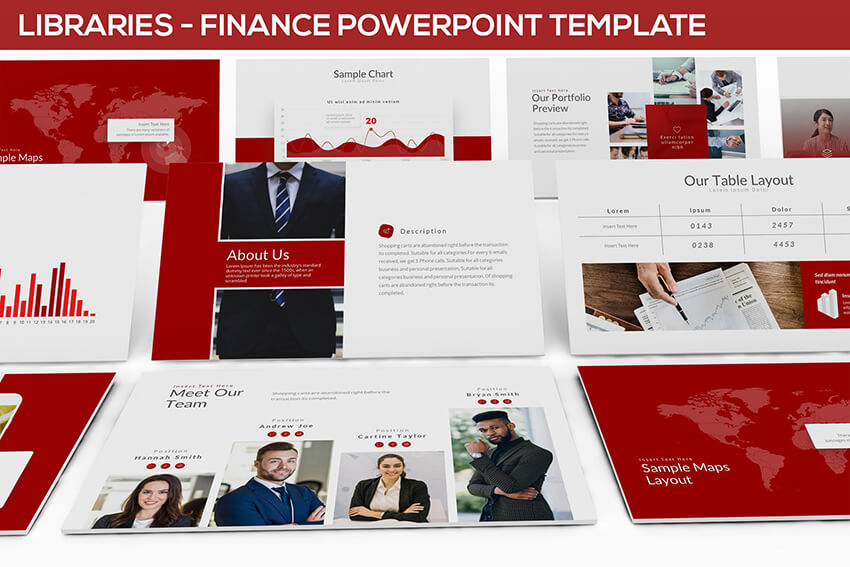 19+ Best Business Finance PowerPoint PPT Templates (For Financial