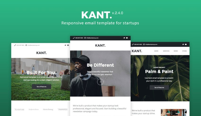 35 Premium Free Email Templates Top Responsive Html Designs To Download 2019 Web Design Tips