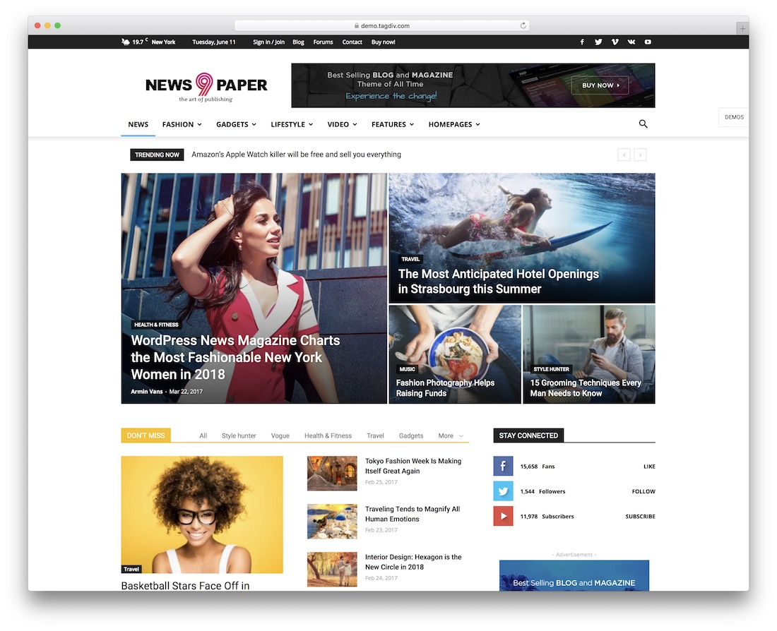 36 Top WordPress Newspaper Themes Themes To Build