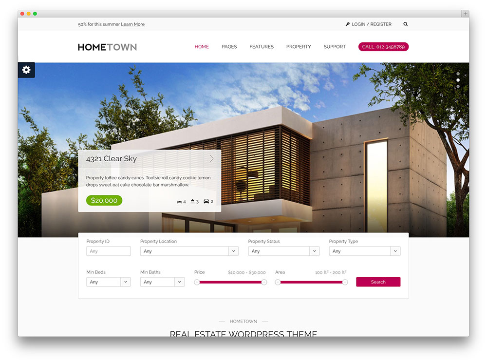 More Than 36 Beautiful and Responsive Real Estate WordPress