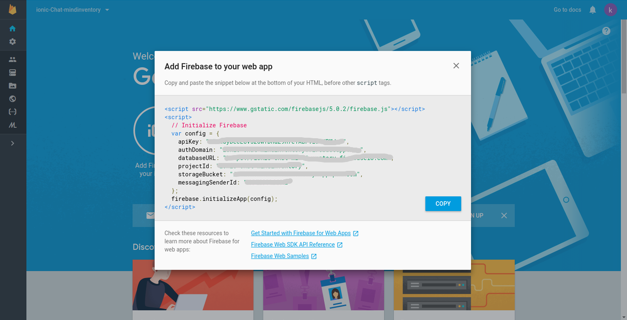 IONIC Chat With Firebase - Web Design Tips