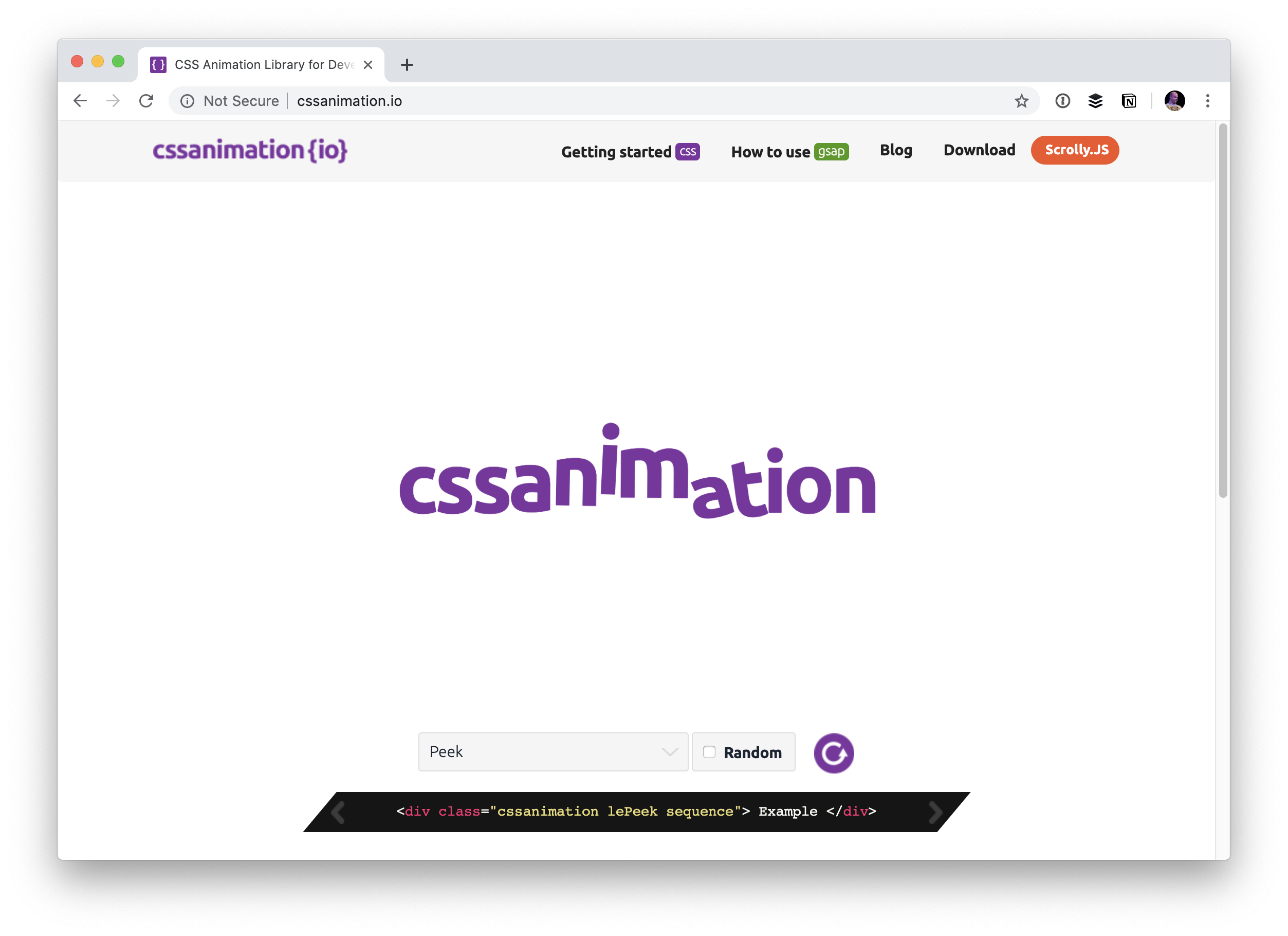 CSS Animation Libraries - Web Design Tips