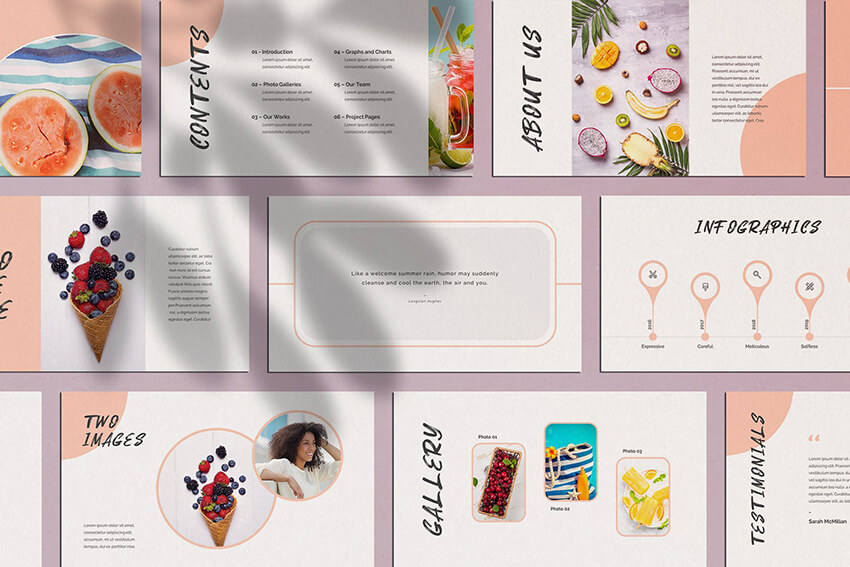 20 Free Cute Powerpoint Slide Templates To Make Playful