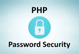 PHP Password Security