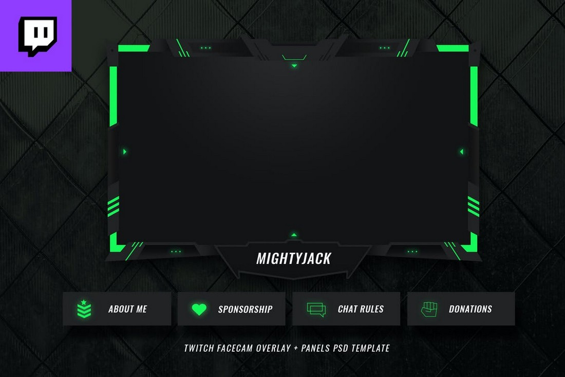 15+ Best Twitch Stream Overlay Templates in 2020 (Free ...