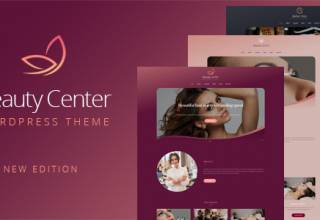 Beauty Center - Responsive WordPress Theme