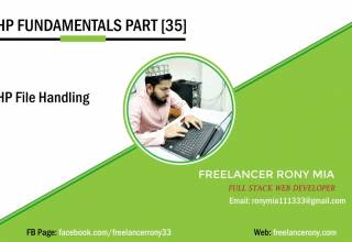 PHP Fundamentals Part 35 File Handling in PHP