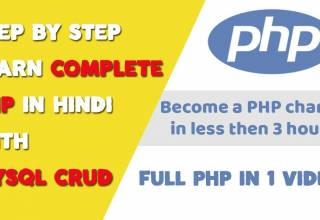 Step by step complete PHP Tutorial for Beginners in Hindi
