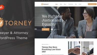 Torney - Lawyer & Attorney Theme